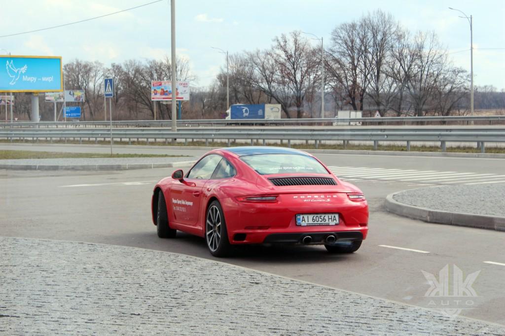 тест-драйв, Porche 911 (991 II), kk-auto.com.ua