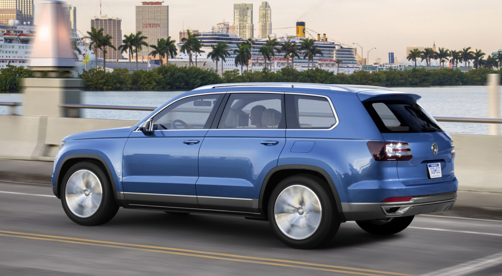 Volkswagen Teramont, Volkswagen Touareg, TSI, Лос-Анджелеське автошоу