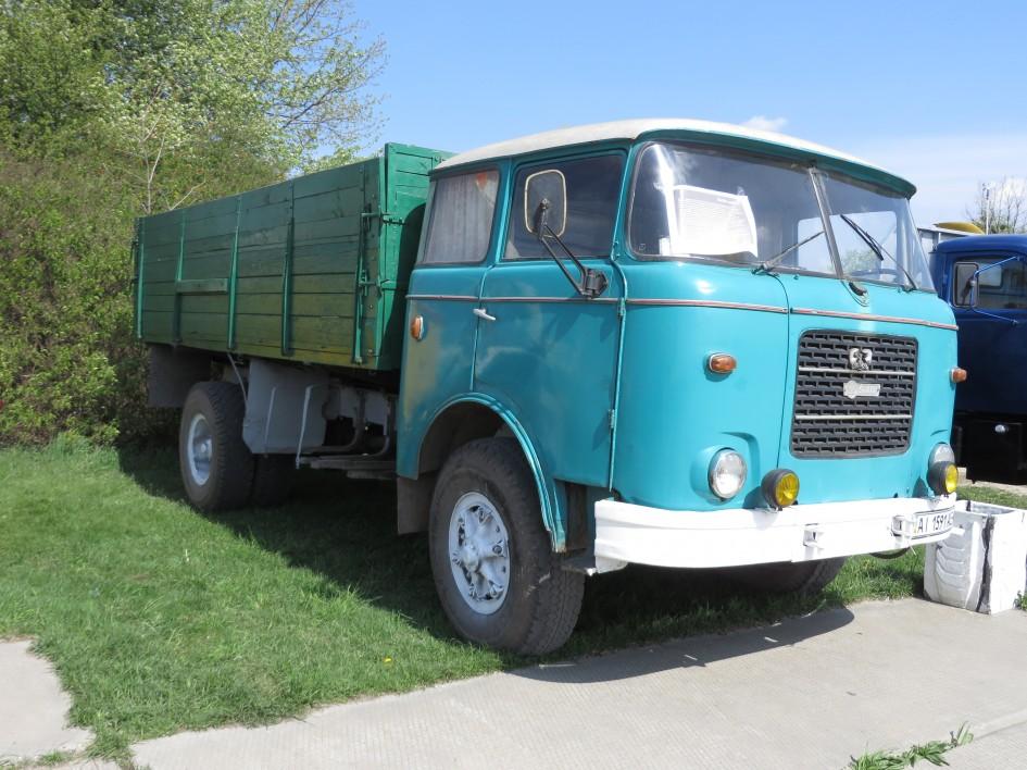 OldCarLand-2016, МАЗ-103Т, Skoda-706RT