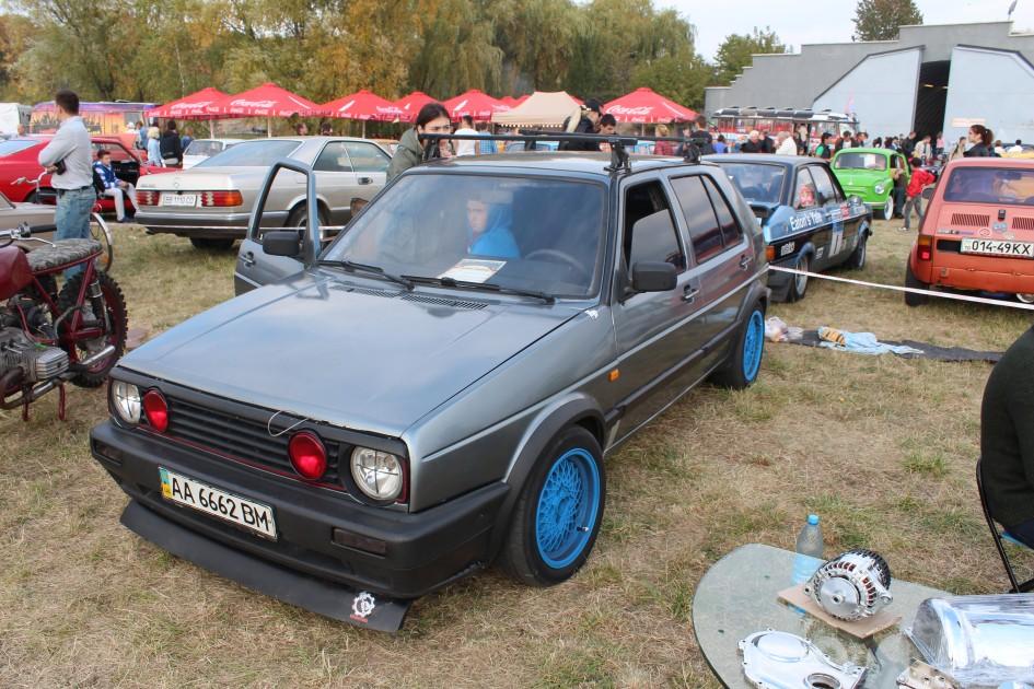 OldCarLand-2016, VW Transporter T2, VW Passat, VW Golf 2