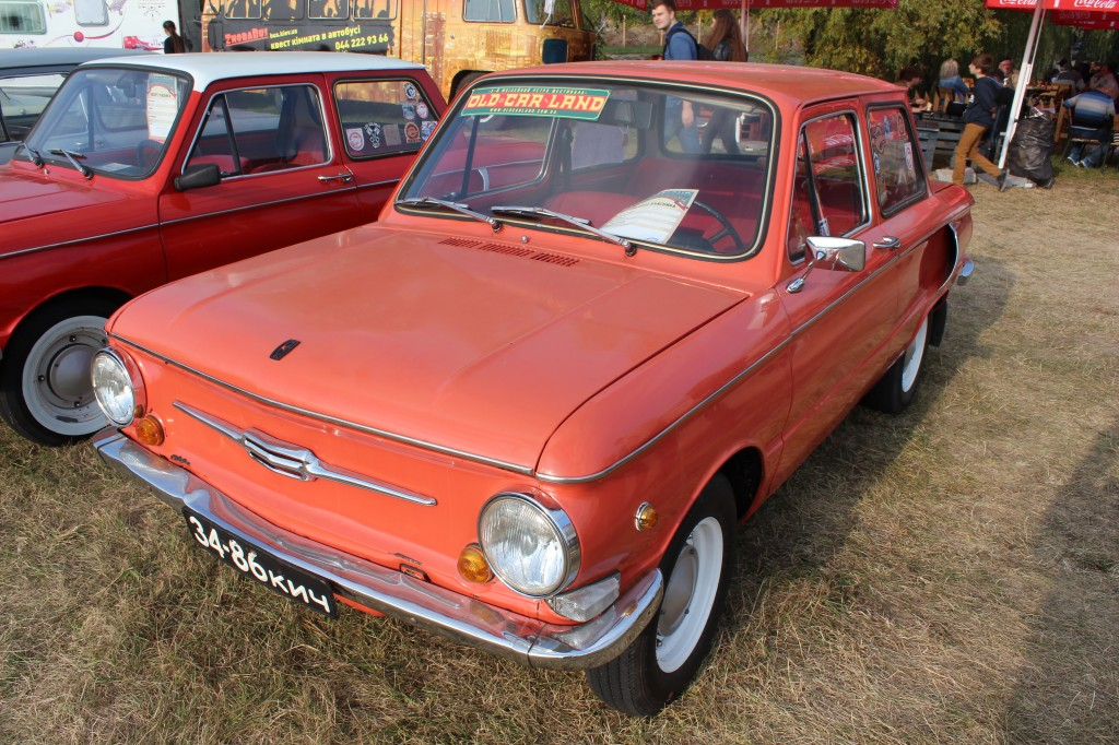 OldCarLand-2016, ЗАЗ-965, ЗАЗ-965А, ЗАЗ-968М, ЗАЗ-968А