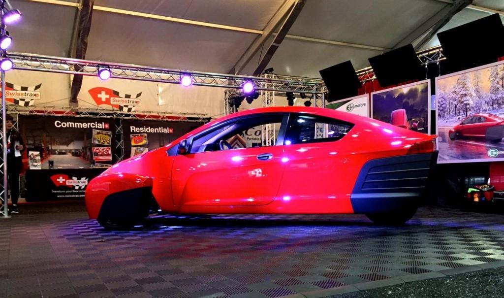 Elio E1C, Reliant, Top Gear, Лос-Анджелес