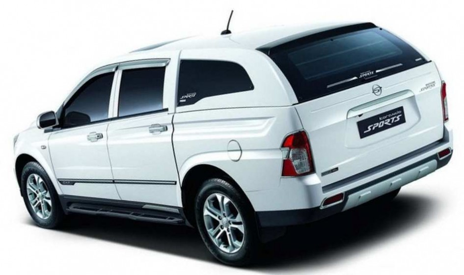 Ssang Yong Actyon Sports, new Actyon