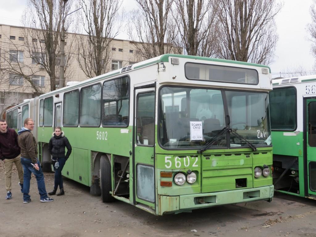 Scania CN112, ІЕРЦ