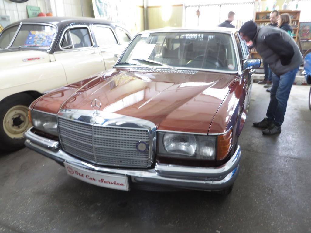 """Mercedes-Benz W116, ІЕРЦ """"Київпастранс"""""""