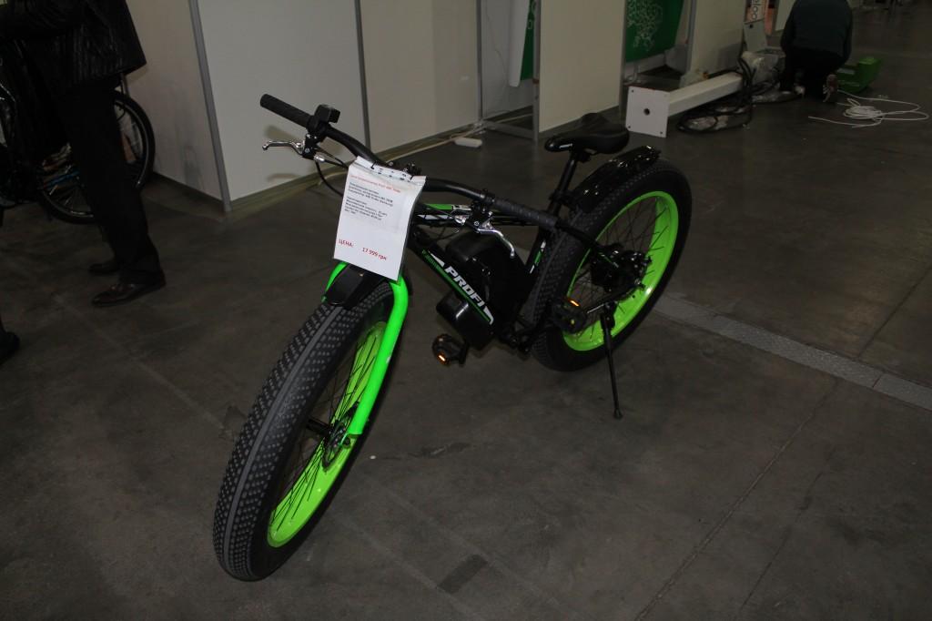 Plug-In Ukraine 2017, електровелосипеди