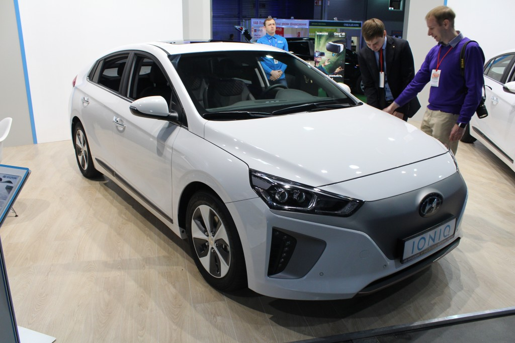 Plug-In Ukraine 2017, Hyundai Ioniq electric