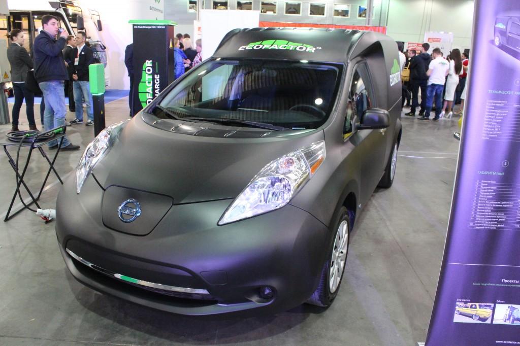 Plug-In Ukraine 2017, Nissan Leaf Cargo