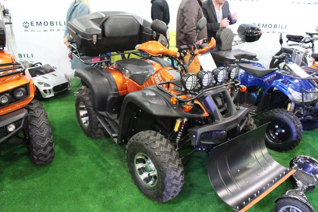 Plug-In Ukraine 2017, електроквадроцикли Crafter