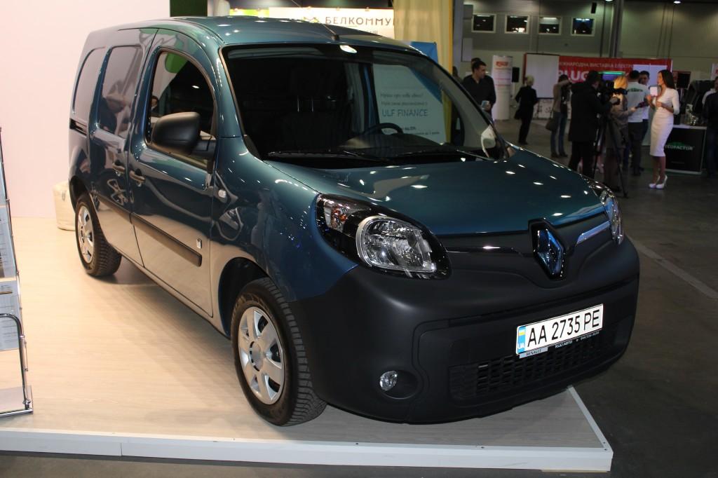 Plug-In Ukraine 2017, Renault Kangoo Z.E.