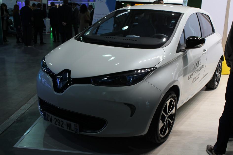 Plug-In Ukraine 2017, Renault Zoe