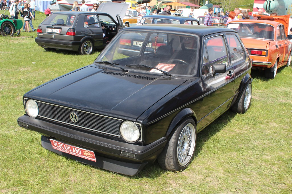 OldCarLand-2017, VW Golf MKI