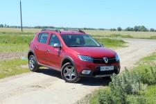 Тест-драйв Renault Sandero Stepway: ранкова пробіжка