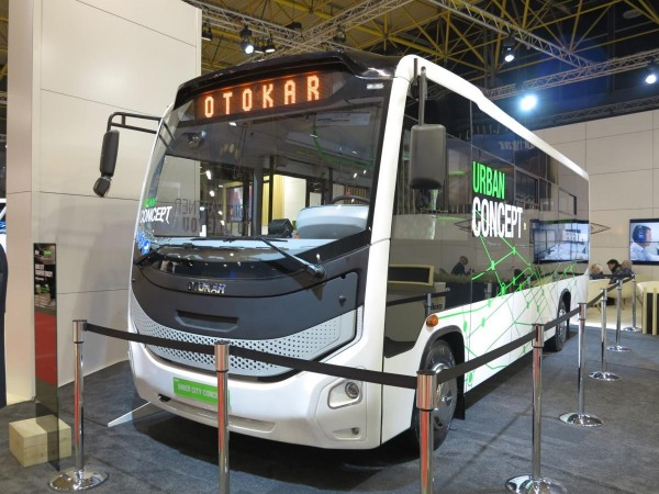 Busworld 2017, Cummins ISBE 4.5, Inner City Transport Concept, Otokar, ZF