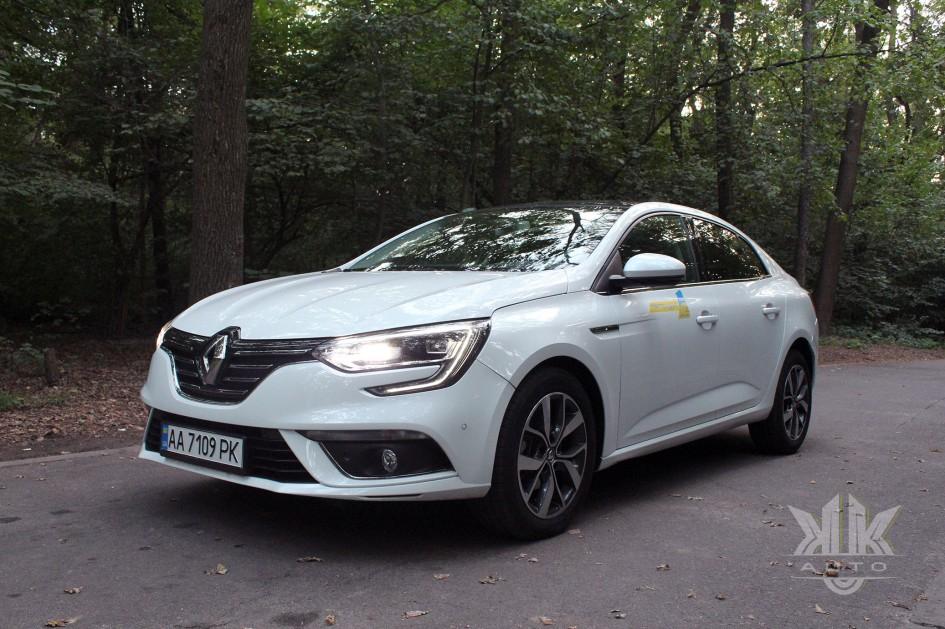 тест-драйв, Renault Megane Sedan