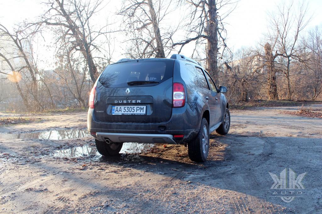 Renault Duster, тест-драйв