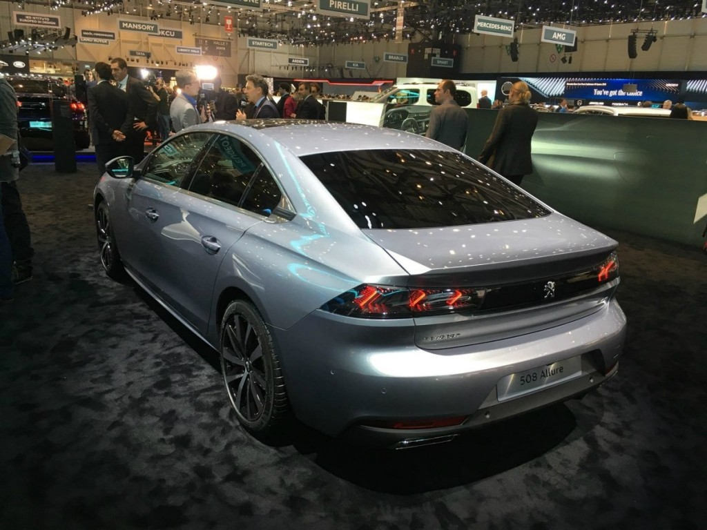 508, Aisin, BlueHDi, i-Cockpit, Peugeot, PureTech, Женева, Женевський автомобільний салон, Peugeot 508