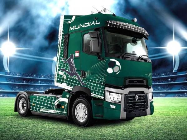 Renault Trucks, T-High Mundial, Чемпіонат світу з футболу 2018 року, Мундіаль-2018, Renault Premium