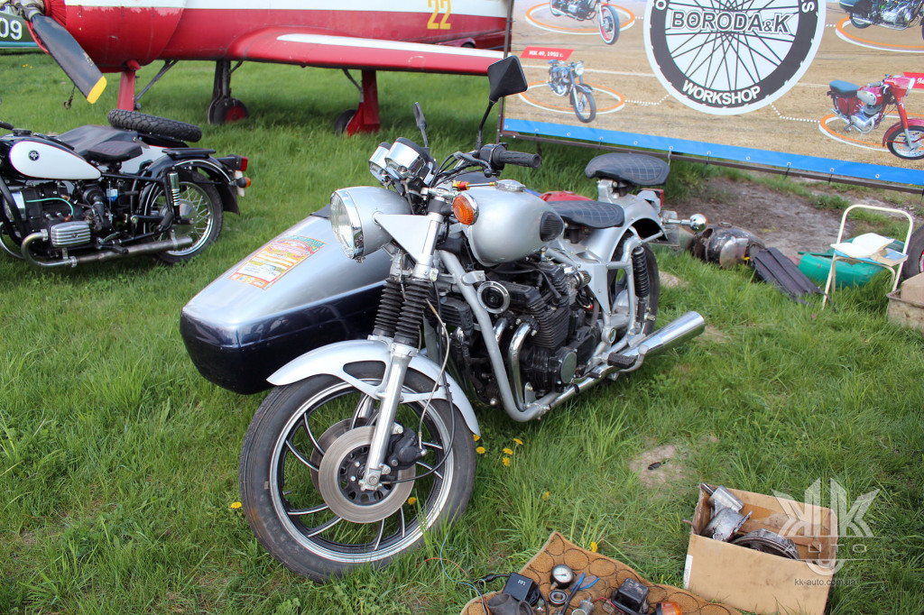 OldCarLand-2018, Дніпро-Yamaha, мотоцикли
