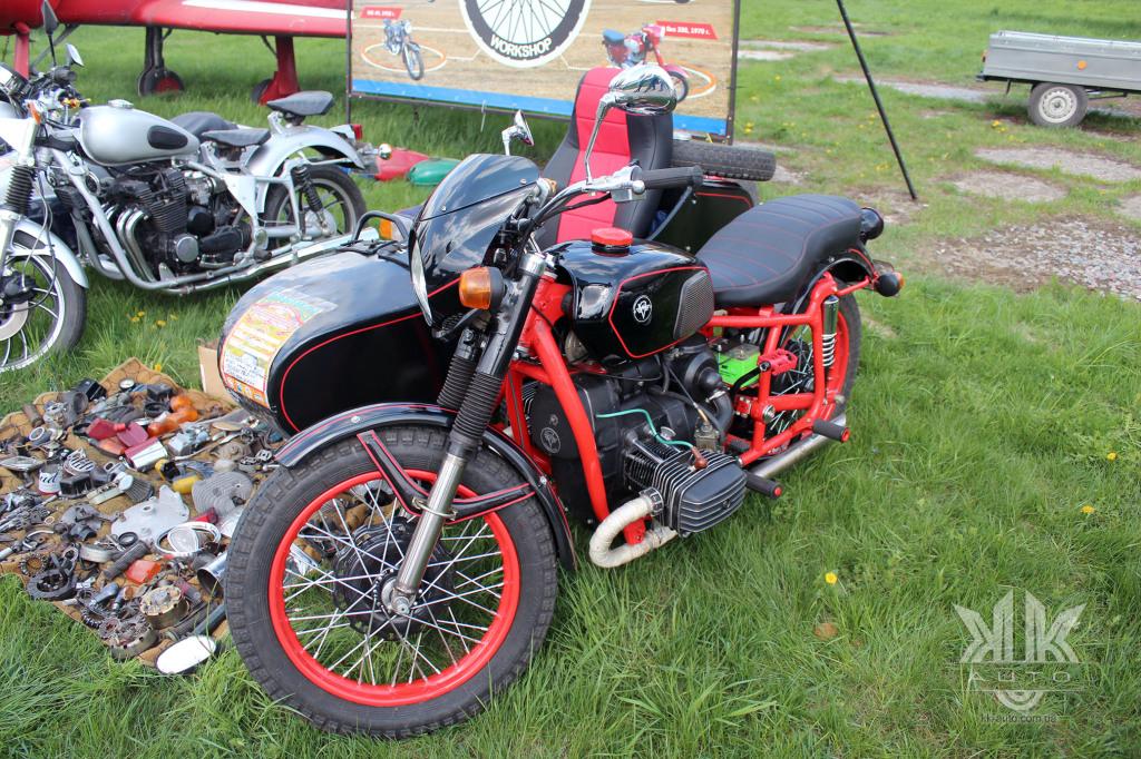 OldCarLand-2018, Дніпро МТ-11, мотоцикли