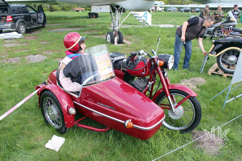 OldCarLand-2018, Ява-634, мотоцикли