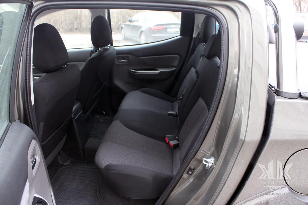 тест-драйв, Mitsubishi L200