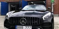 "Mercedes-Benz AMG GT C Roadster на ""євробляхах"". Хто там сміявся з литовських ""Жигулів""?"