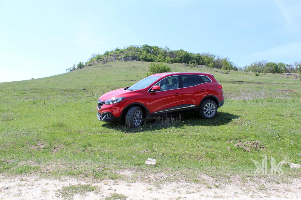 тест-драйв, Renault Kadjar