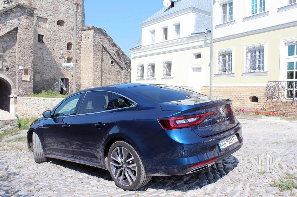 тест-драйв, Renault Talisman