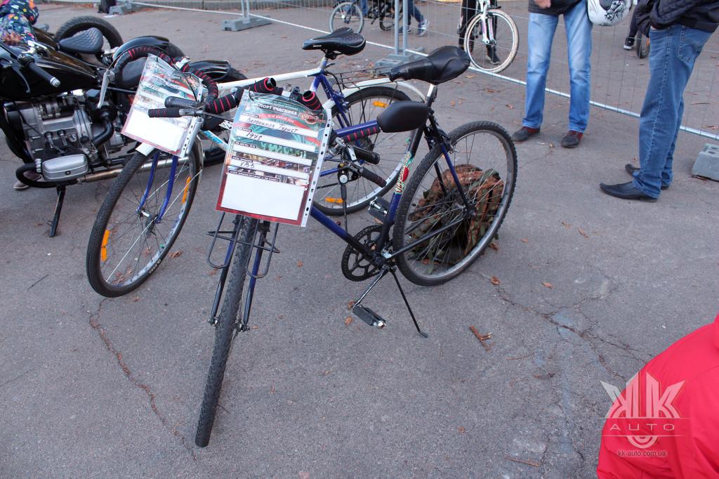 OldCarLand-2018, велосипеди