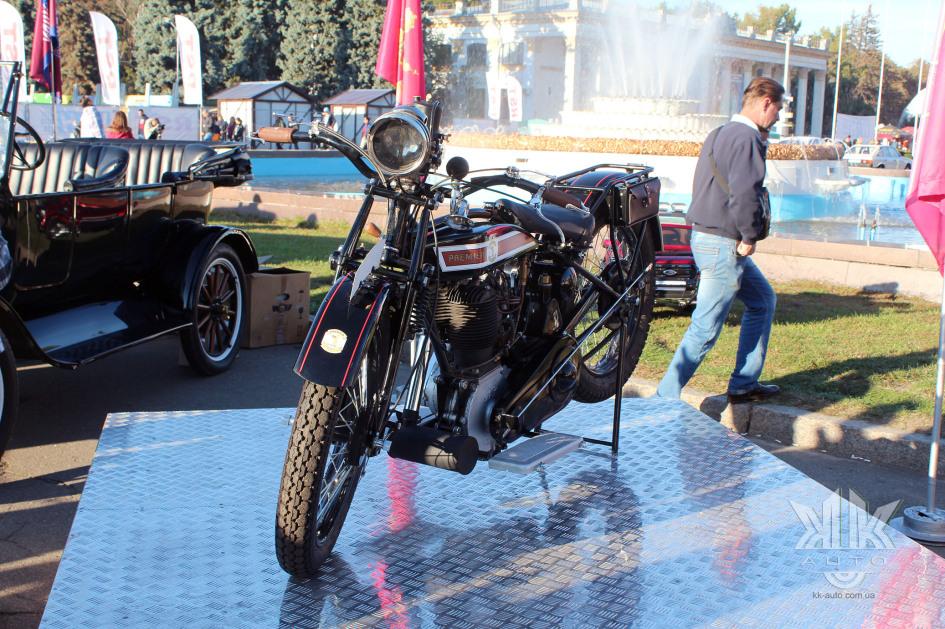 OldCarLand-2018, мотоцикли