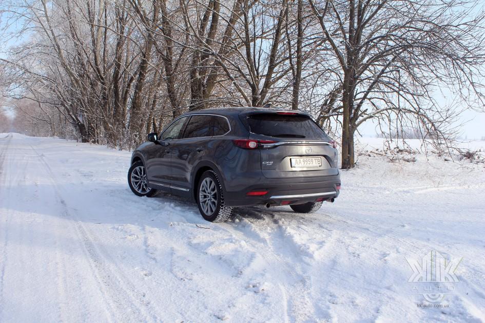тест-драйв, Mazda CX-9