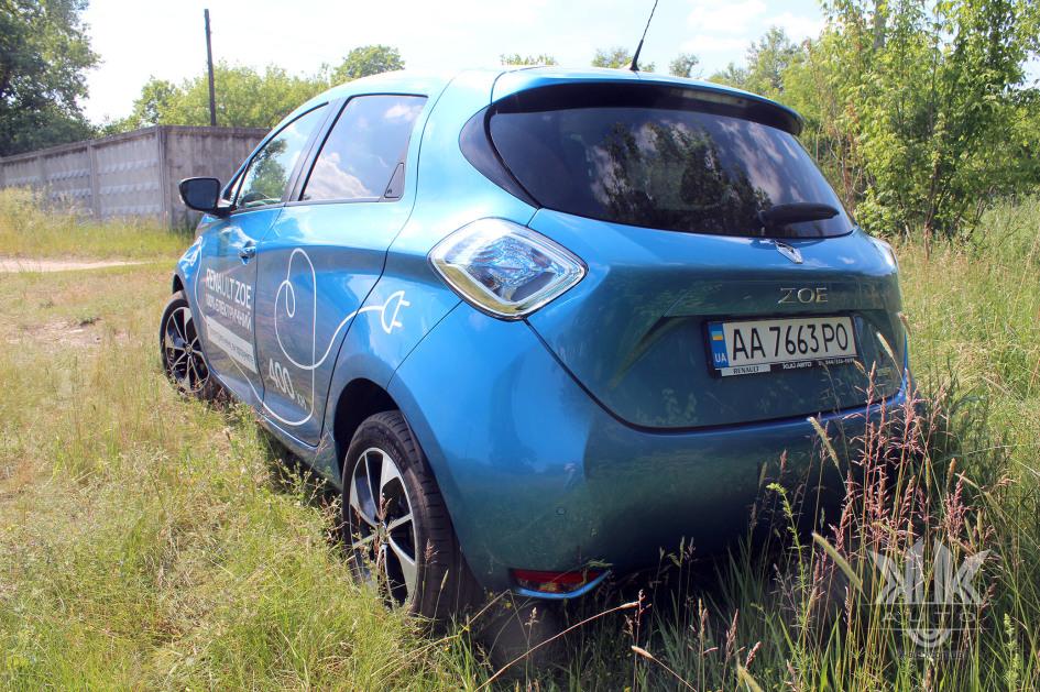 тест-драйв, Renault Zoe