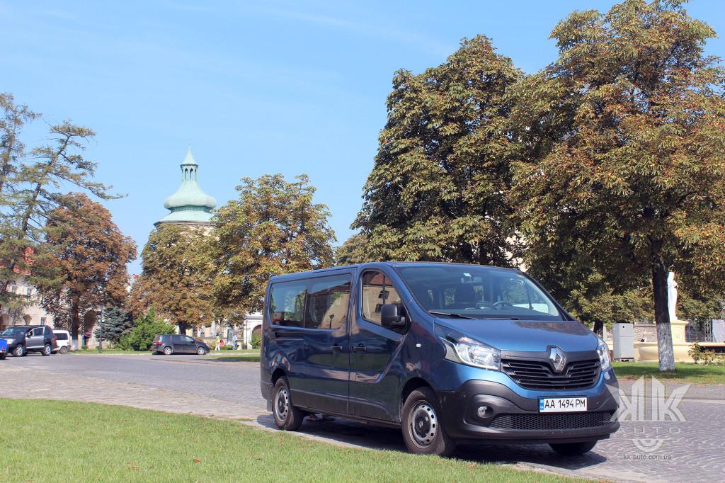 тест-драйв, Renault Trafic