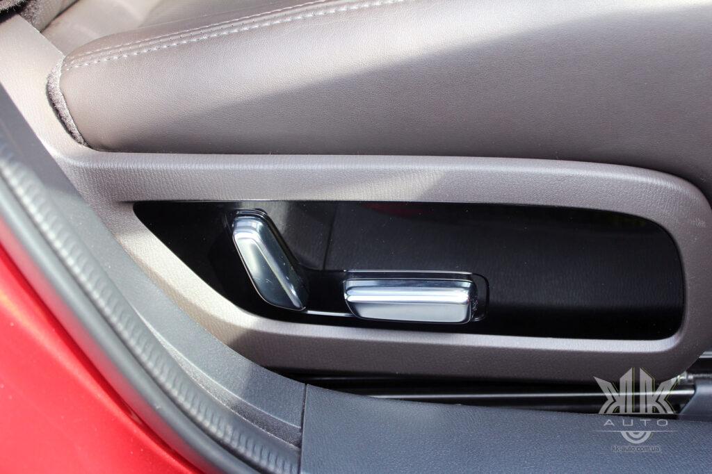 Mazda 6 ручки регулювання пасажирського сидіння