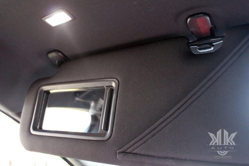 Mazda 6 протисонячний козирок