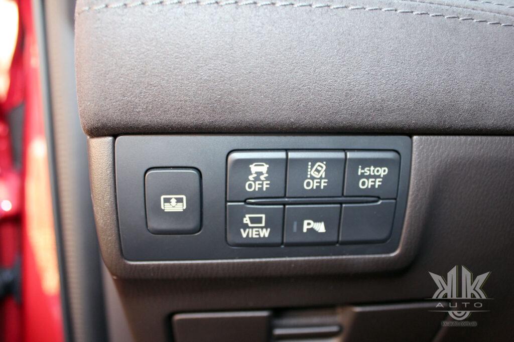 Mazda 6, i stop, ldws, dsc