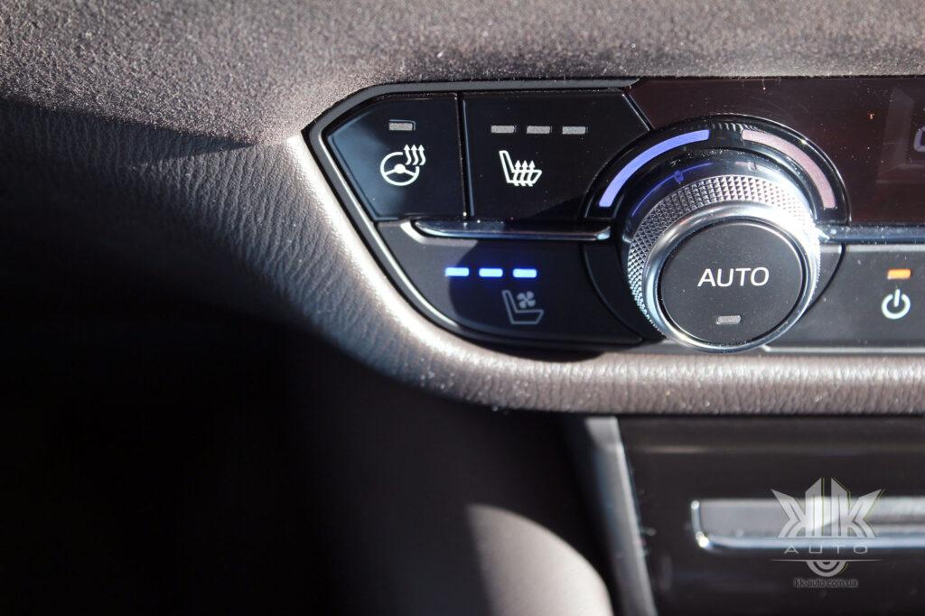 вентиляція сидіння для авто Мазда 6