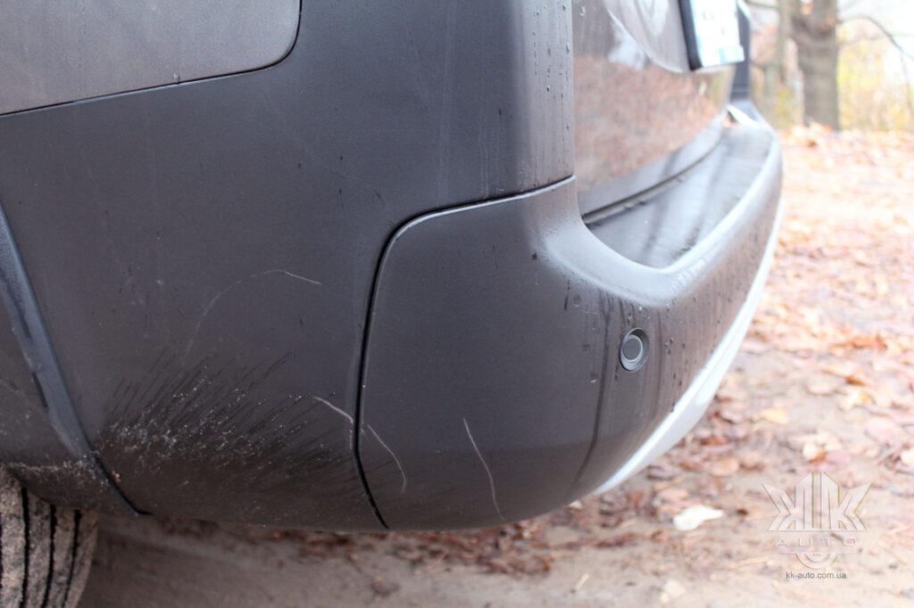 тест-драйв Peugeot Rifter, парктронік