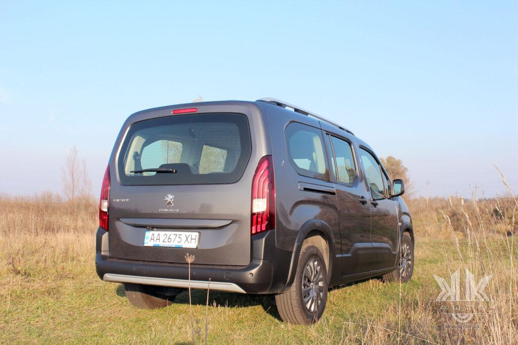 Тест-драйв Peugeot Rifter, Пежо Ріфтер ціна