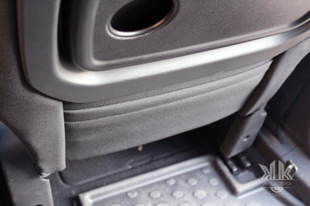 Тест-драйв Peugeot Rifter, кишенька у сидінні