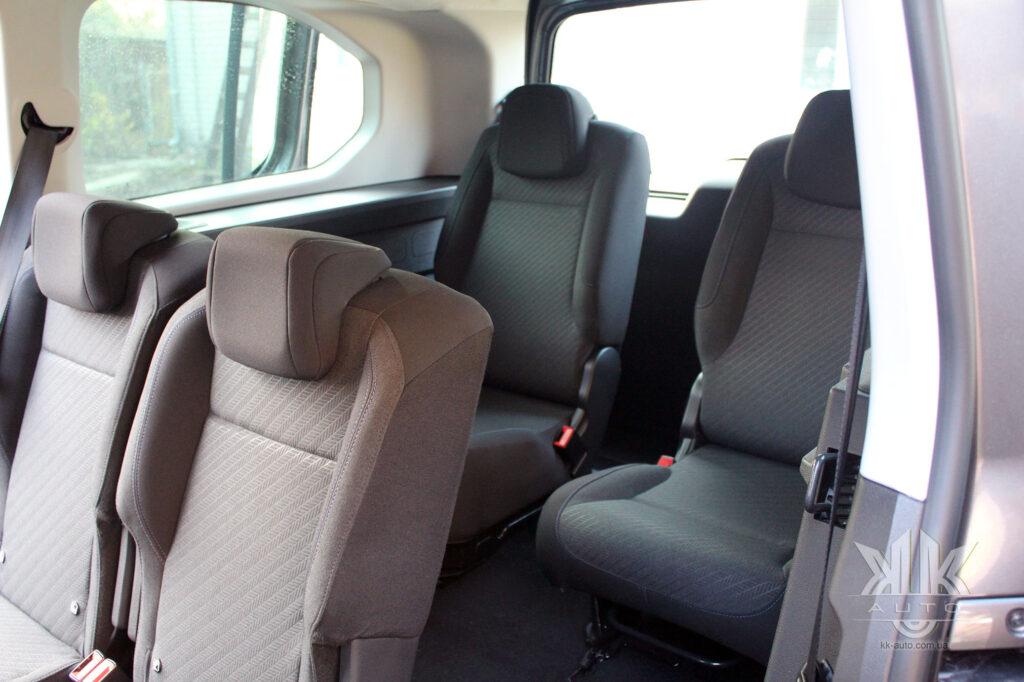 Тест-драйв Peugeot Rifter, сидіння