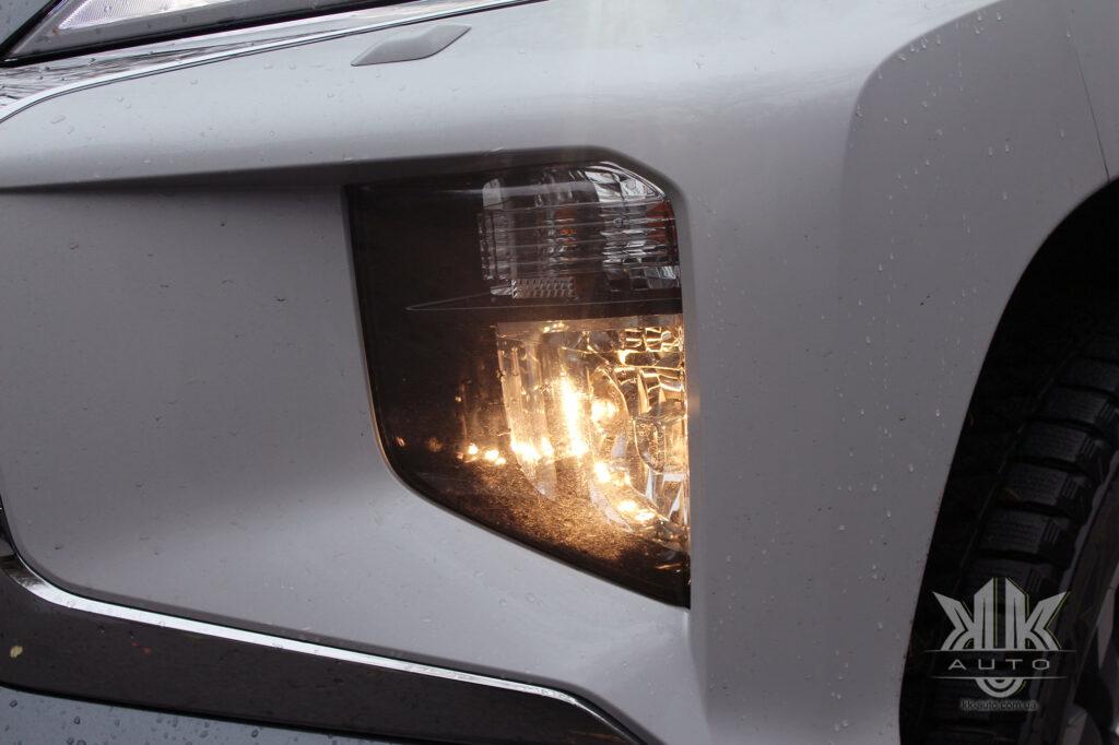 Тест-драйв Mitsubishi L200, протитуманні фари