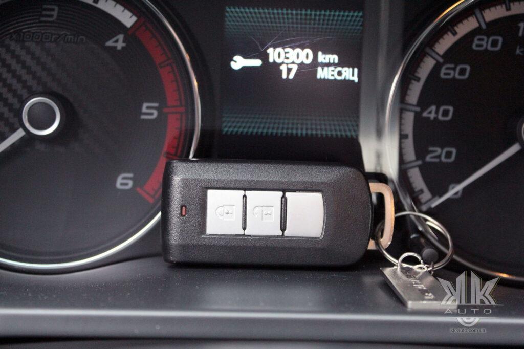 Тест-драйв Mitsubishi L200, ключ