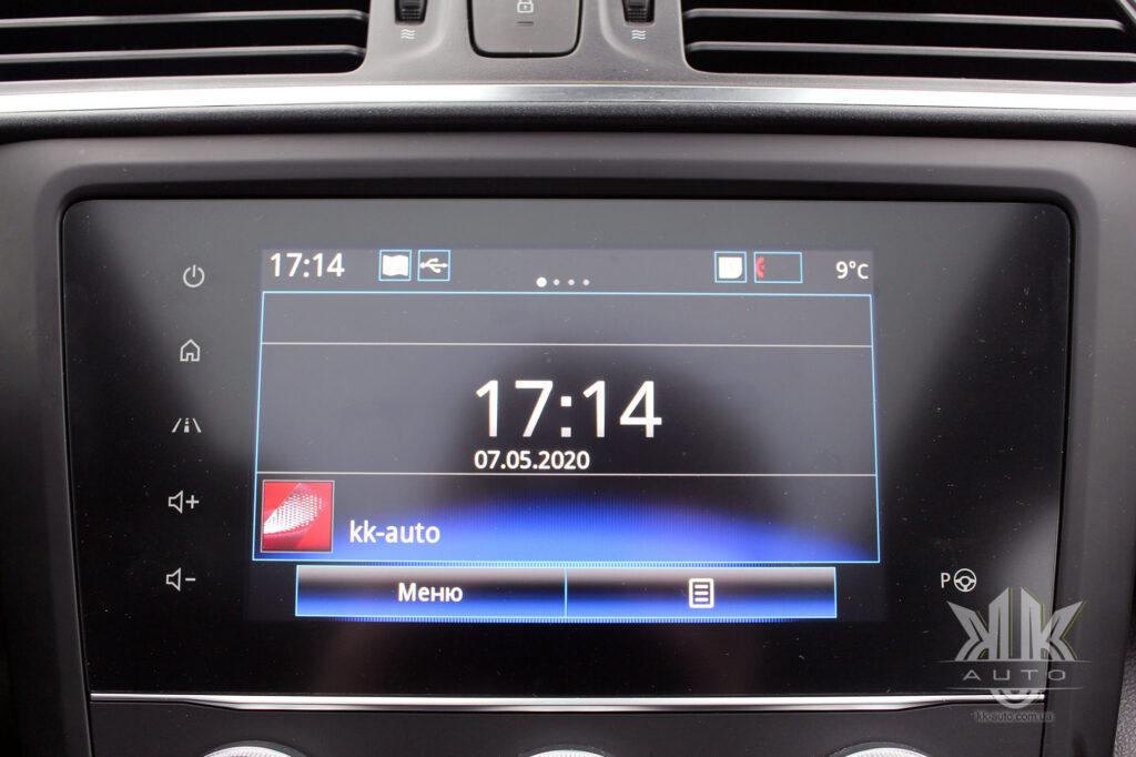Тест-драйв Renault Kadjar, R Link2