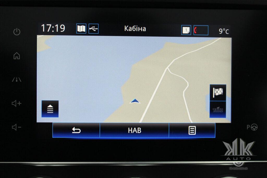 Тест-драйв Renault Kadjar, карти і навігація