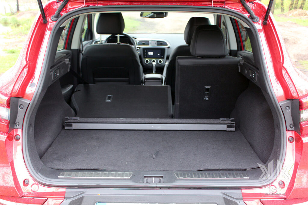Тест-драйв Renault Kadjar, багажник