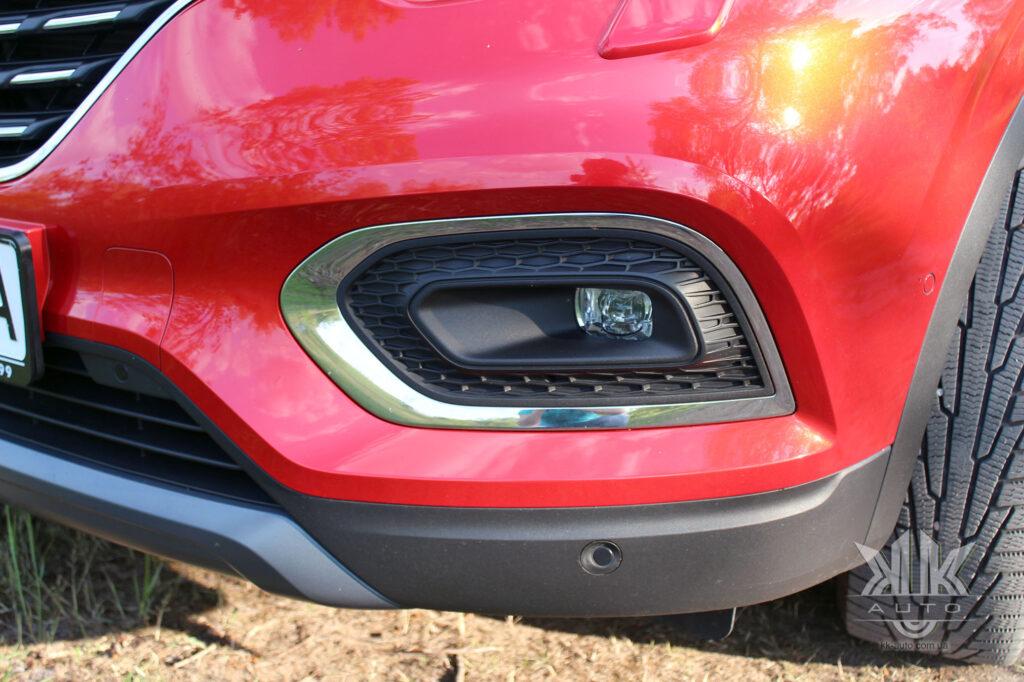 Тест-драйв Renault Kadjar, парктронік