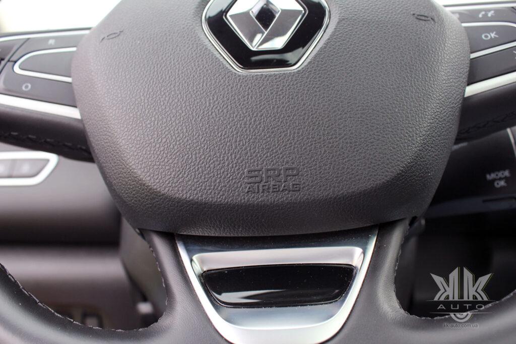 Тест-драйв Renault Kadjar, SRS SRP airbag