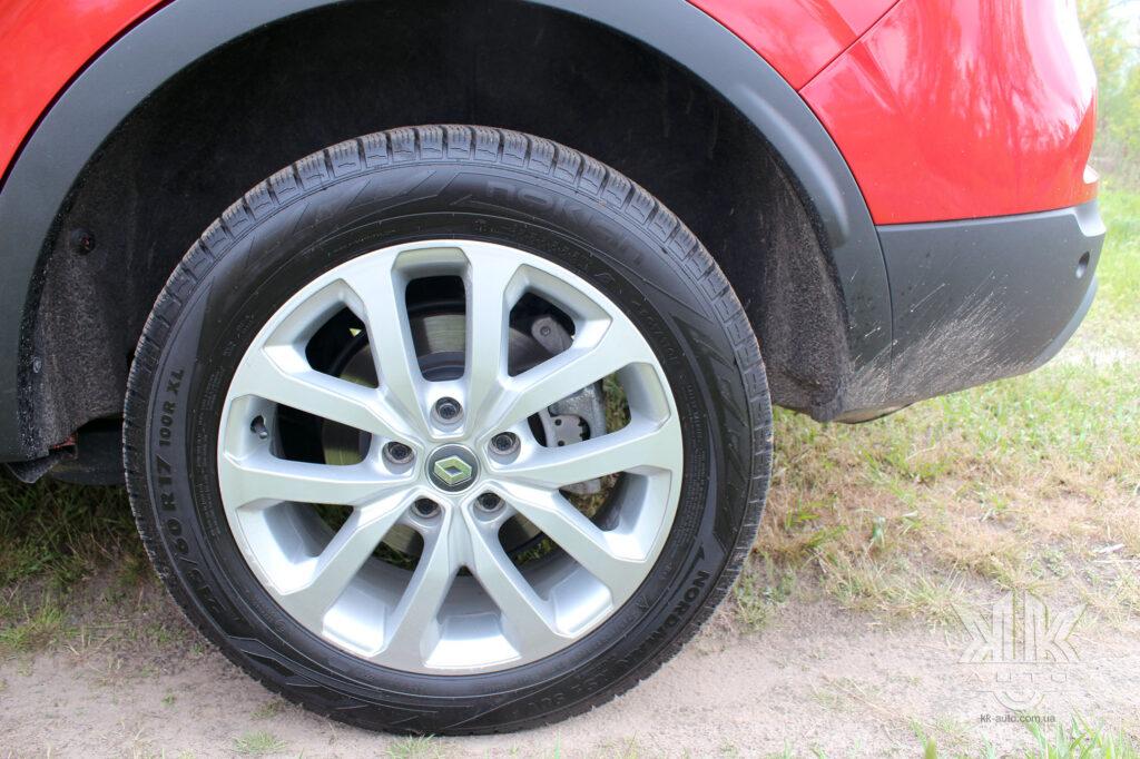 Тест-драйв Renault Kadjar, ESP